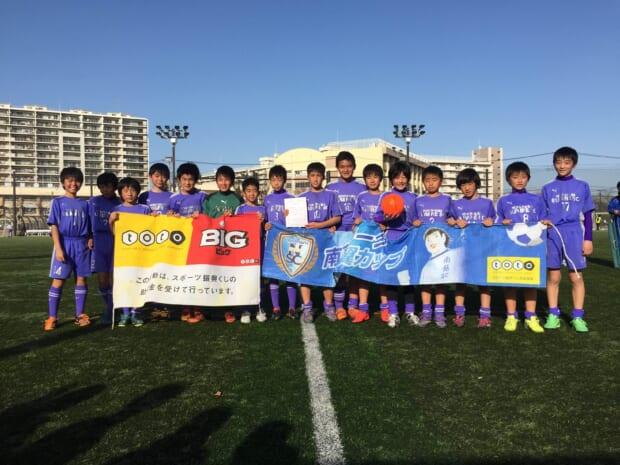 3位:横浜すみれサッカークラブ
