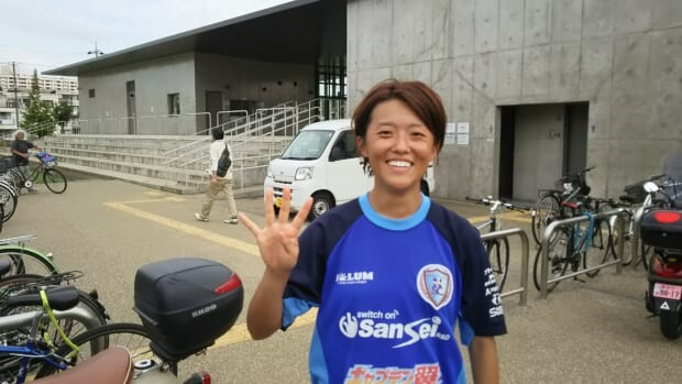 先制から4ゴールの松田選手