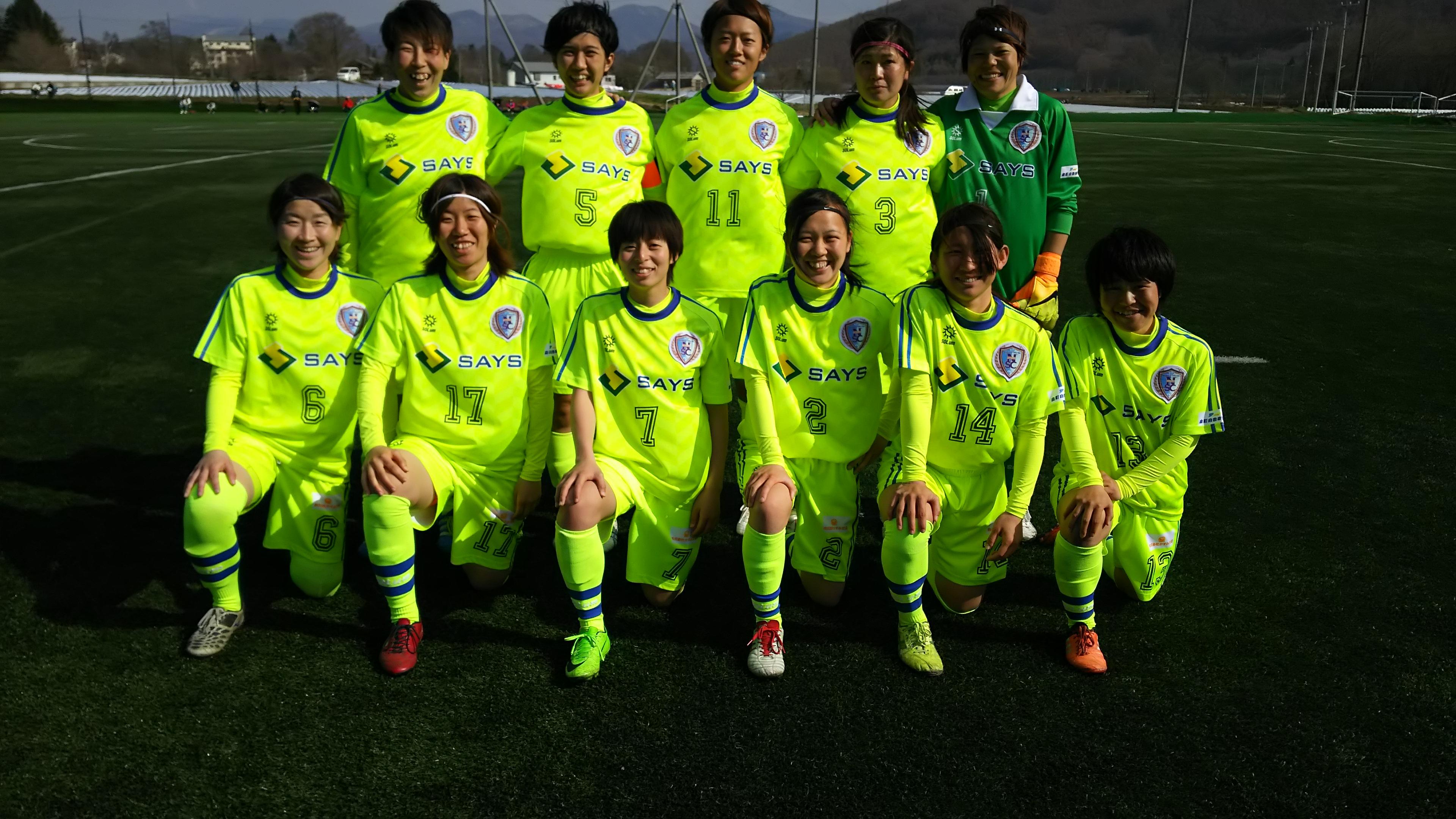VS JAPANサッカーカレッジスターティングメンバー