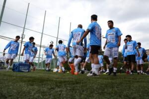 試合前トレーニング