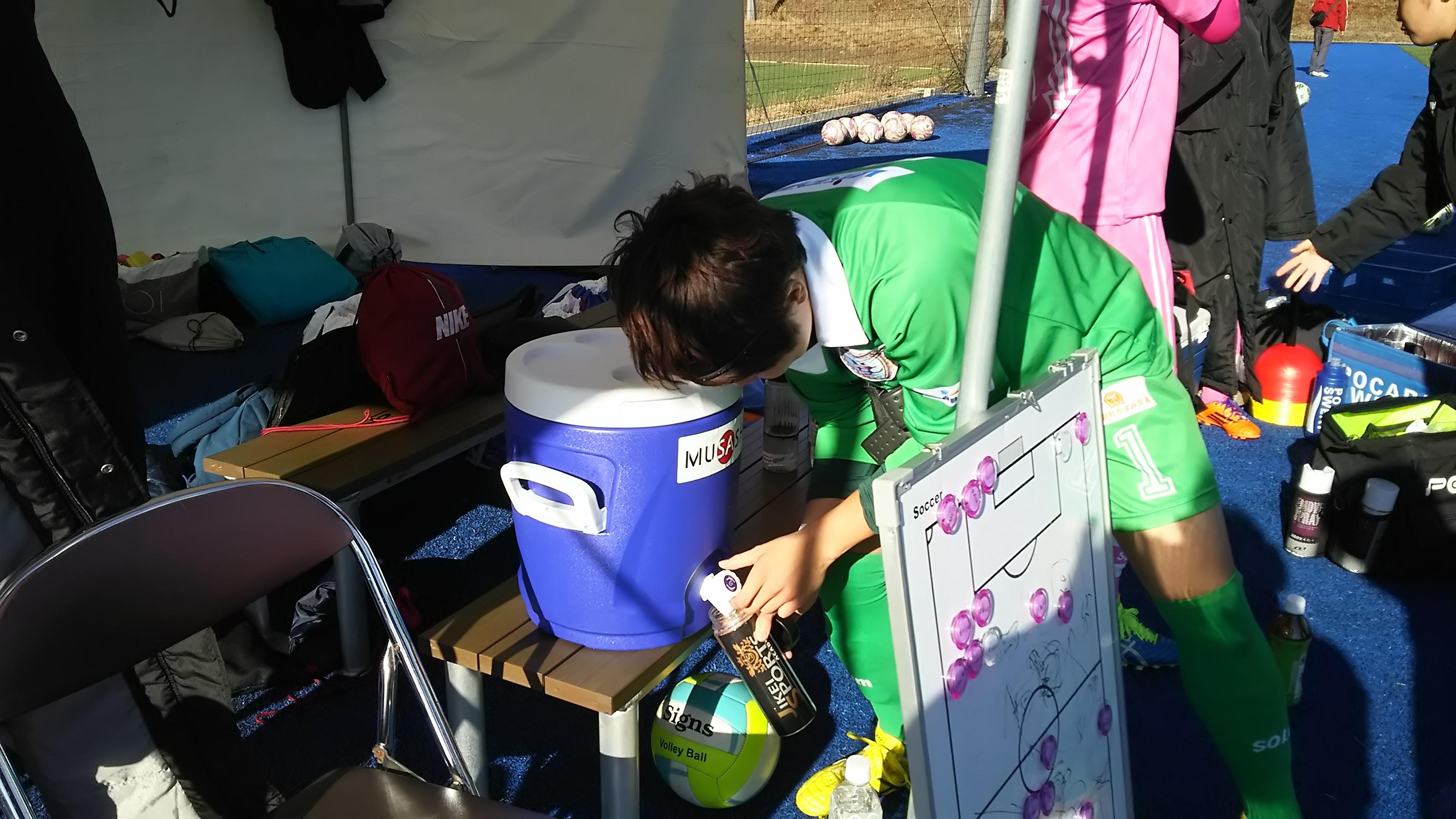 今大会期間中、MUSASHI様よりスポーツ飲料等を御支援いただきました
