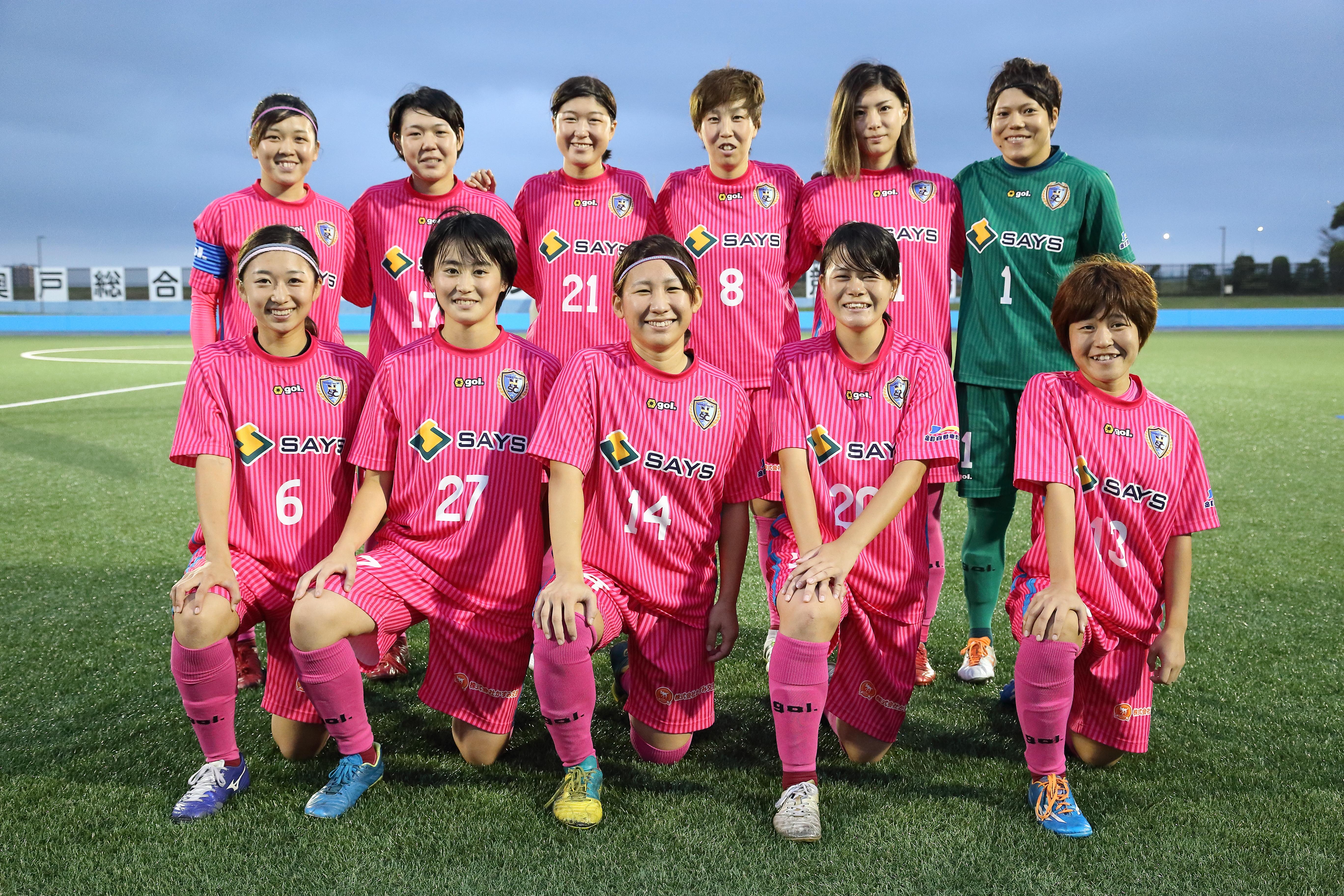 VS日本体育大学FIELDS横浜サテライトBスターティングメンバー