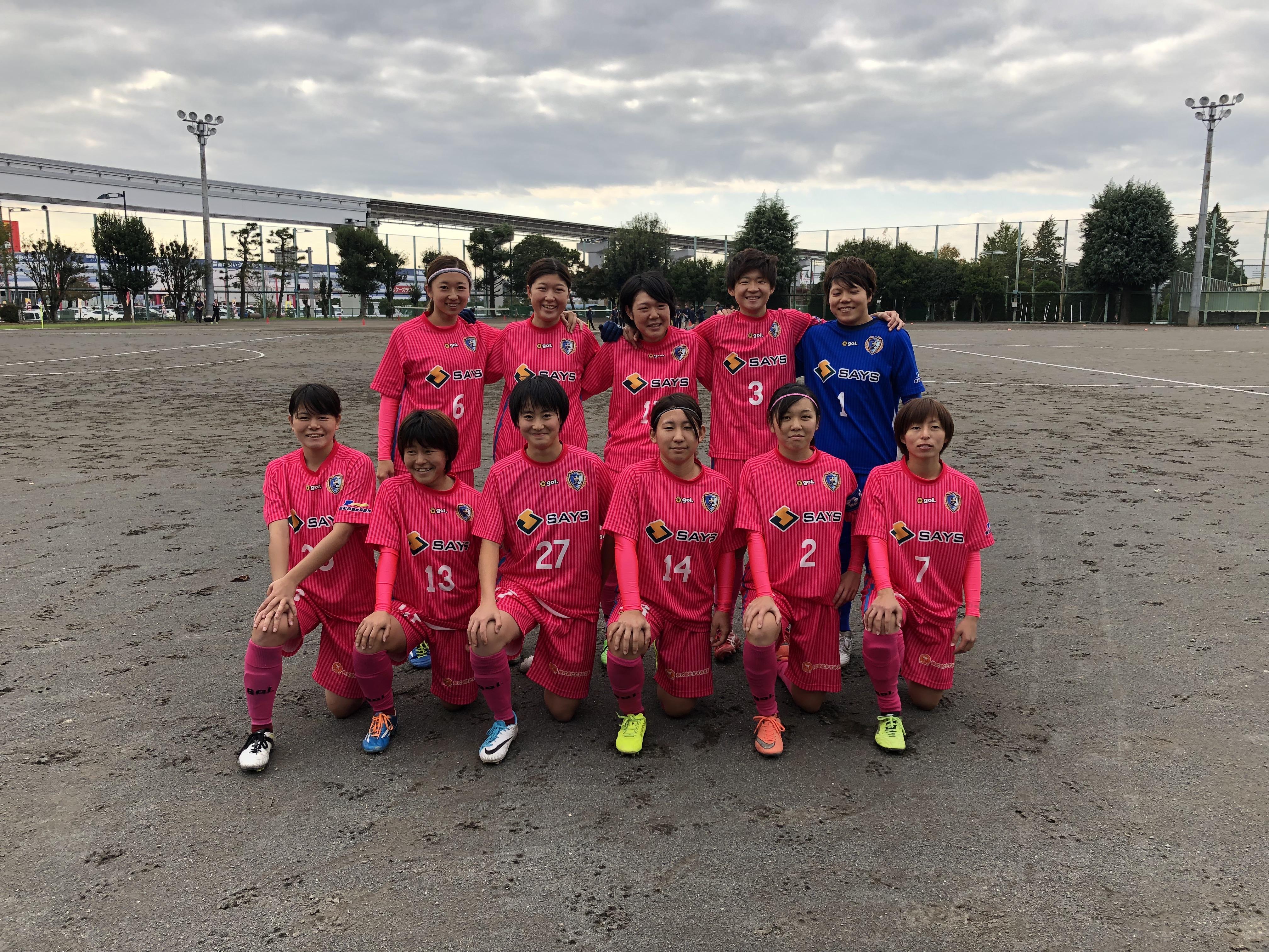 立川FC戦スターティングメンバー